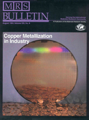 MRS Bulletin Volume 19 - Issue 8 -