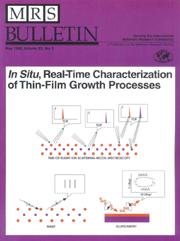 MRS Bulletin Volume 20 - Issue 5 -