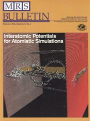 MRS Bulletin Volume 21 - Issue 2 -