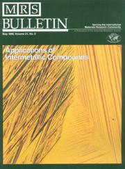 MRS Bulletin Volume 21 - Issue 5 -