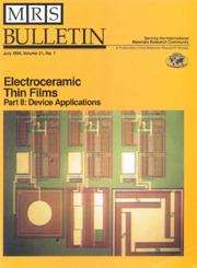 MRS Bulletin Volume 21 - Issue 7 -