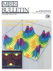MRS Bulletin Volume 22 - Issue 1 -