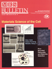 MRS Bulletin Volume 24 - Issue 10 -