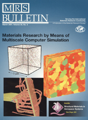 MRS Bulletin Volume 26 - Issue 3 -  Materials Research by Means of Multiscale Computer Simulation