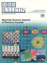MRS Bulletin Volume 26 - Issue 8 -  Materials Science Aspects of Photonic Crystals
