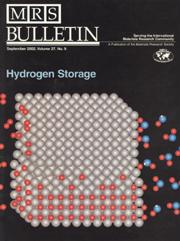 MRS Bulletin Volume 27 - Issue 9 -  Hydrogen Storage