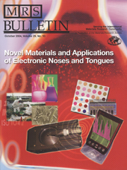 MRS Bulletin Volume 29 - Issue 10 -  Novel Materials and Applications of Electronic Noses and Tongues