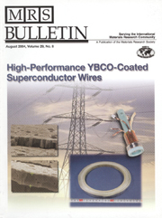 MRS Bulletin Volume 29 - Issue 8 -  High-Performance YBCO-Coated Superconductor Wires