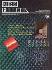 MRS Bulletin Volume 29 - Issue 9 -