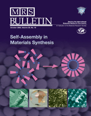 MRS Bulletin Volume 30 - Issue 10 -  Self-Assembly in Materials Synthesis