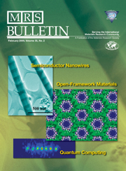 MRS Bulletin Volume 30 - Issue 2 -