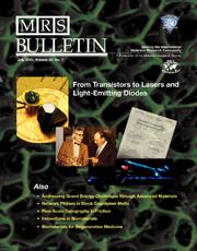 MRS Bulletin Volume 30 - Issue 7 -
