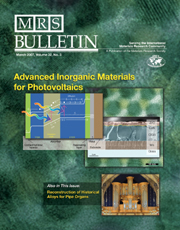 MRS Bulletin Volume 32 - Issue 3 -  Advanced Inorganic Materials for Photovoltaics
