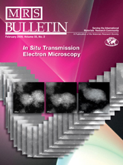 MRS Bulletin Volume 33 - Issue 2 -  In Situ Transmission Electron Microscopy