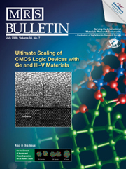 MRS Bulletin Volume 34 - Issue 7 -  Ultimate Scaling of CMOS Logic Devices with Ge and III—V Materials