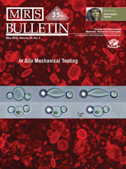 MRS Bulletin Volume 35 - Issue 5 -  In Situ Mechanical Testing of Biological and Inorganic Materials at the Micro- and Nanoscales