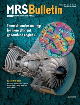 MRS Bulletin Volume 37 - Issue 10 -  Thermal-barrier coatings for more efficient gas-turbine engines