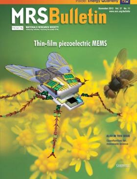 MRS Bulletin Volume 37 - Issue 11 -  Thin-film piezoelectric MEMS
