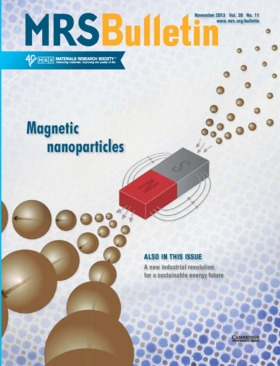 MRS Bulletin Volume 38 - Issue 11 -  Magnetic Nanoparticles