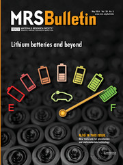 MRS Bulletin Volume 39 - Issue 5 -  Lithium Batteries and Beyond