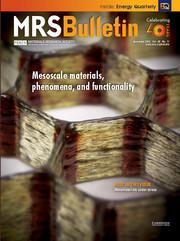 MRS Bulletin Volume 40 - Issue 11 -  Mesoscale Materials, Phenomena, and Functionality