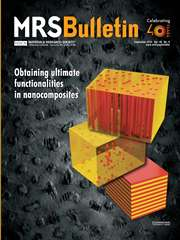 MRS Bulletin Volume 40 - Issue 9 -  Obtaining Ultimate Functionalities in Nanocomposites