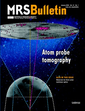 MRS Bulletin Volume 41 - Issue 1 -  Atom Probe Tomography
