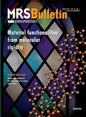 MRS Bulletin Volume 42 - Issue 1 -  Material Functionalities from Molecular Rigidity