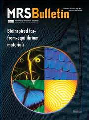 MRS Bulletin Volume 44 - Issue 2 -  Bioinspired Far-From-Equilibrium Materials