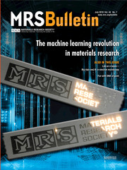 MRS Bulletin Volume 44 - Issue 7 -  The Machine Learning Revolution in Materials Research