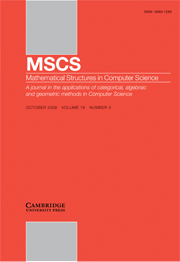 Mathematical Structures in Computer Science Volume 18 - Issue 5 -  Theory and applications of subtyping