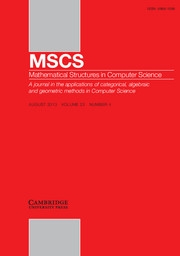 Mathematical Structures in Computer Science Volume 23 - Issue 4 -  Lightweight and Practical Formal Methods in the Design and Analysis of Safety-Critical Systems
