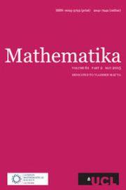 Mathematika Volume 61 - Issue 2 -