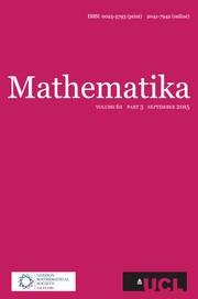 Mathematika Volume 61 - Issue 3 -