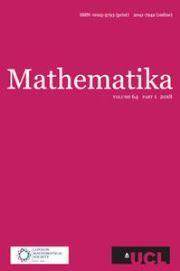 Mathematika Volume 64 - Issue 1 -