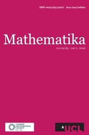 Mathematika Volume 65 - Issue 1 -