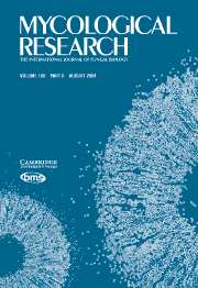 Mycological Research Volume 108 - Issue 8 -