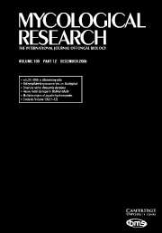 Mycological Research Volume 109 - Issue 12 -