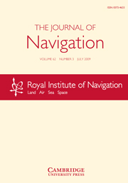 The Journal of Navigation Volume 62 - Issue 3 -