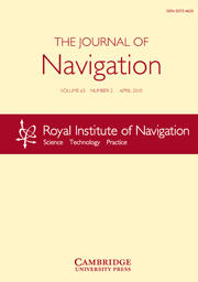 The Journal of Navigation Volume 63 - Issue 2 -