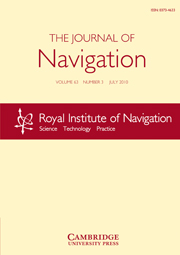 The Journal of Navigation Volume 63 - Issue 3 -