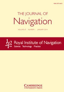 The Journal of Navigation Volume 67 - Issue 1 -