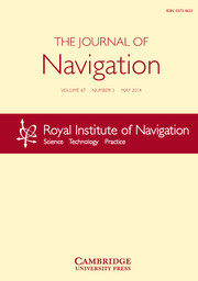 The Journal of Navigation Volume 67 - Issue 3 -