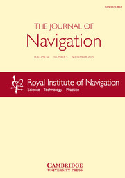 The Journal of Navigation Volume 68 - Issue 5 -