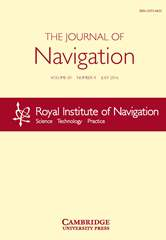 The Journal of Navigation Volume 69 - Issue 4 -