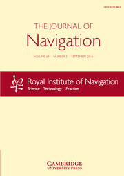The Journal of Navigation Volume 69 - Issue 5 -