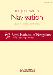The Journal of Navigation Volume 69 - Issue 6 -