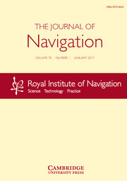 The Journal of Navigation Volume 70 - Issue 1 -