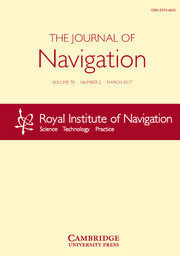 The Journal of Navigation Volume 70 - Issue 2 -