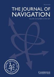 The Journal of Navigation Volume 72 - Issue 3 -